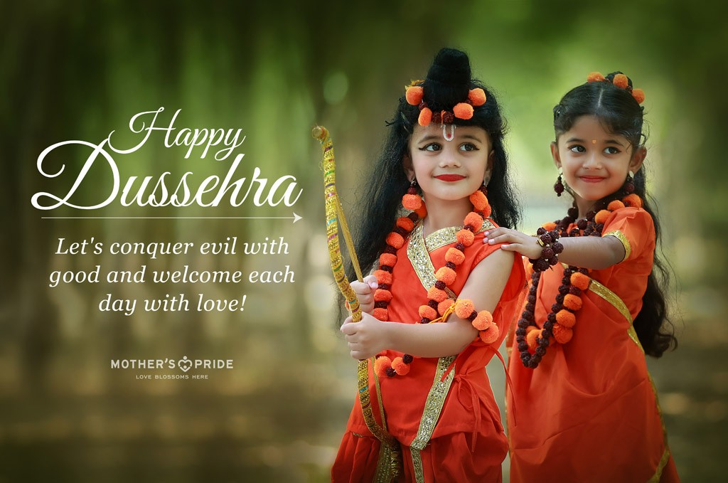 TINY TOTS CELEBRATE THE VICTORY OF GOOD OVER EVIL ON DUSSEHRA