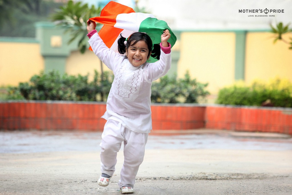 PRIDEENS SOAK IN THE TRICOLOUR AS THEY CELEBRATE THE REPUBLIC DAY