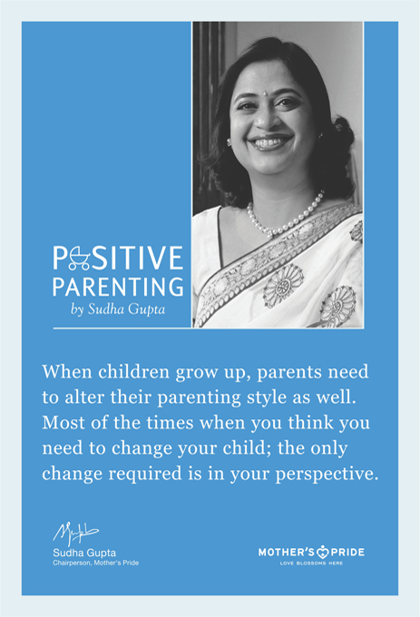 Positive parenting by Sudha Gupta