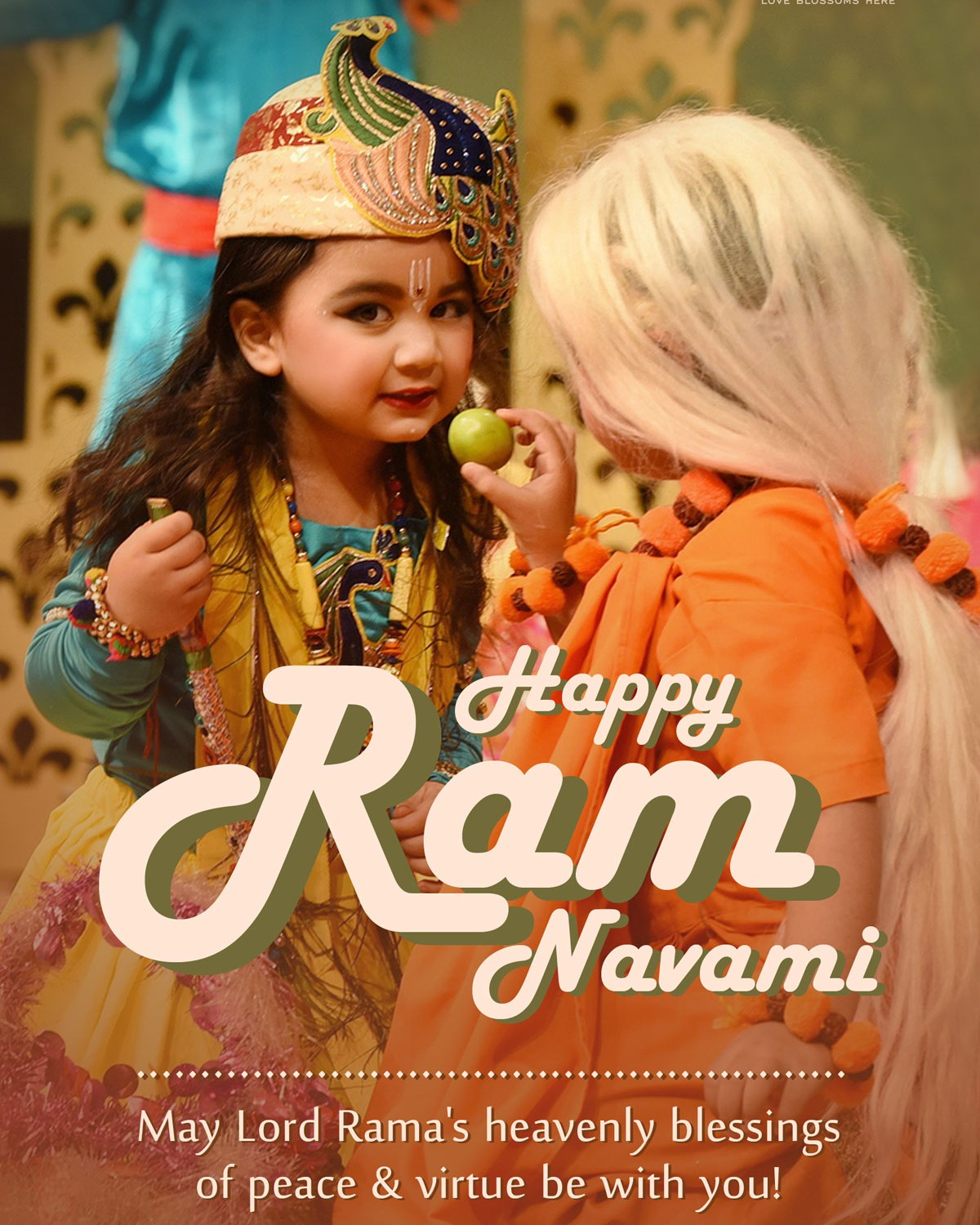 MAY LORD RAMA BLESS YOU & YOUR FAMILY WITH ETERNAL HAPPINESS
