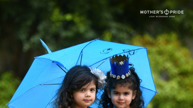 MOTHERS PRIDE BLUE COLOUR DAY