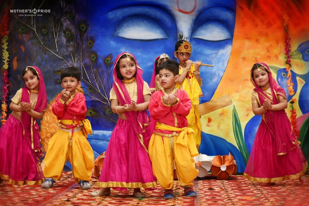 PRIDEENS CELEBRATE JANMASHTAMI WITH SPIRITUAL & TRADITIONAL ETHOS