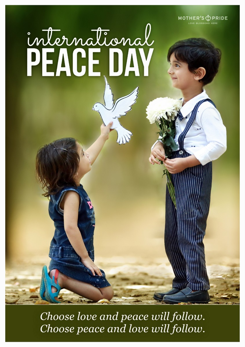INTERNATIONAL PEACE DAY: PEACE BEGINS WITH A SMILE!