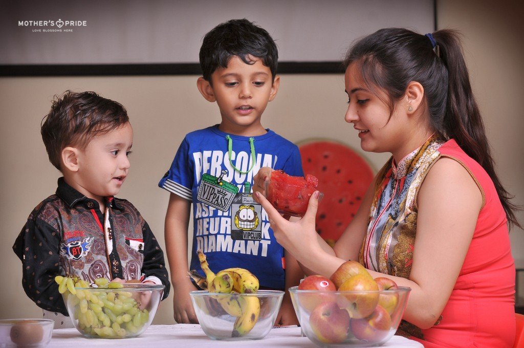 YOUNG PRIDEENS LEARN ABOUT THE HEALTHY WAY OF LIVING