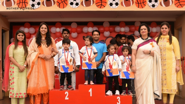 Sports Day Prize Distribution