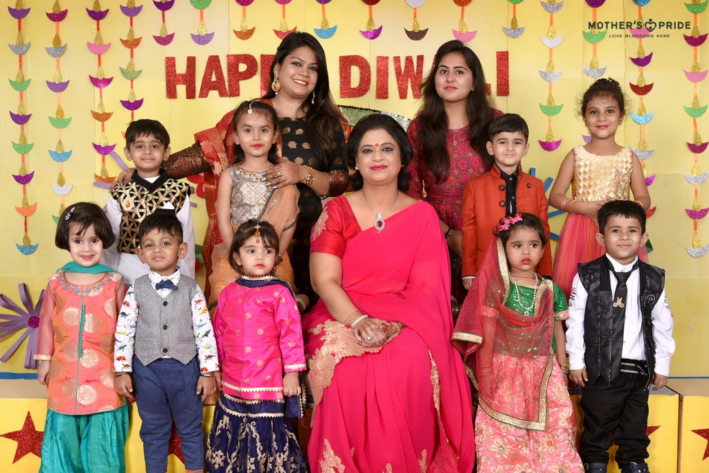 Diwali celebration with chairperson