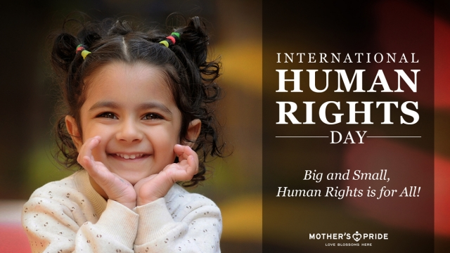 HUMAN RIGHTS DAY: IT COMES TRUE WITH THE SMALLEST EFFORT