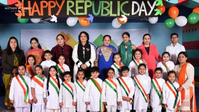 PRIDEENS CELEBRATE REPUBLIC DAY WITH THEIR DEAR SUDHA MA'AM
