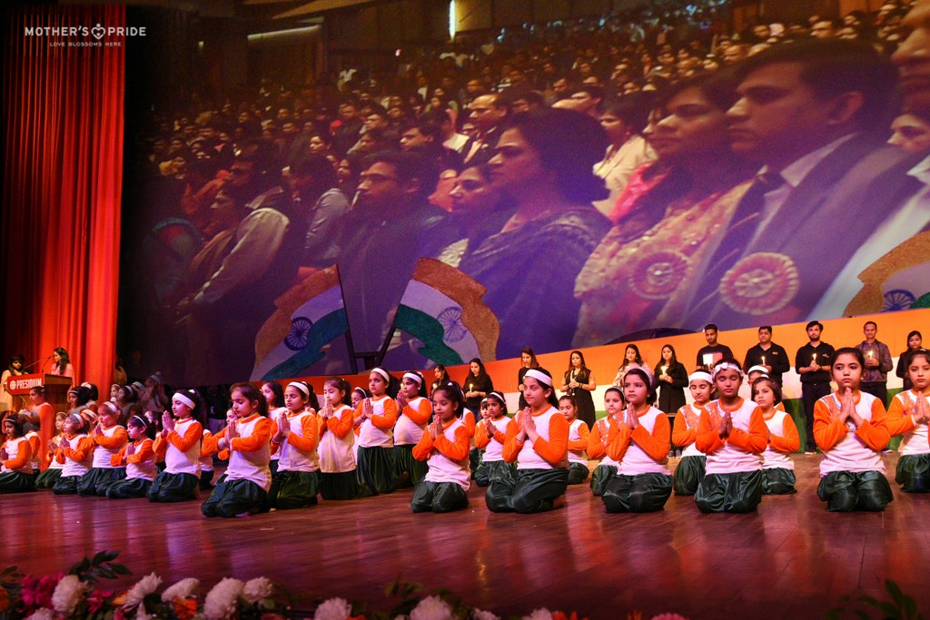 A TRIBUTE TO THE CRPF MARTYRS AT ANNUAL FEST 2019