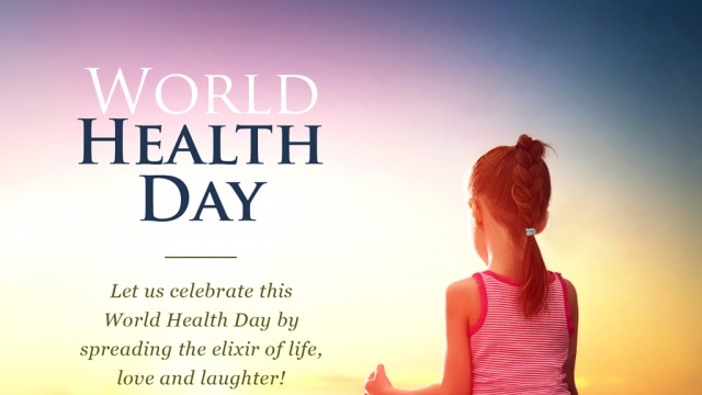 LET'S PLEDGE TO STAY FIT & HAPPY, THIS WORLD HEALTH DAY!