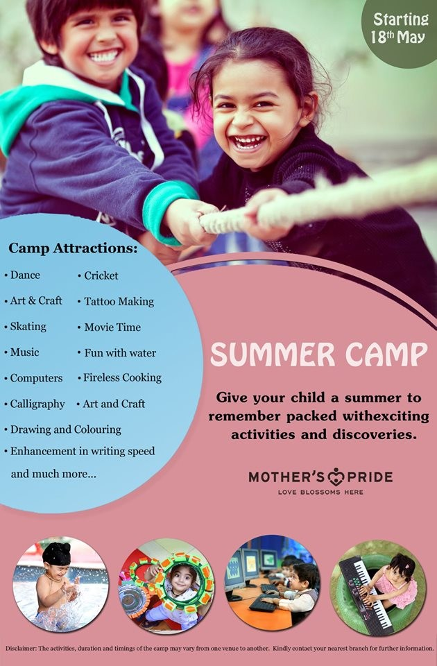 MOTHER'S PRIDE SUMMER CAMP 2019-20: A SUMMER TO REMEMBER!