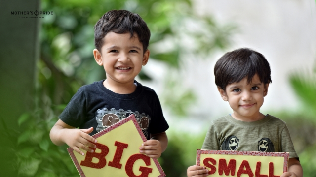 'BIG & SMALL' : SMALL PRIDEENS EXPLORE A BIG CONCEPT!