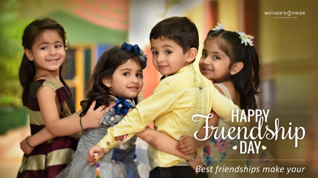 FRIENDSHIP DAY:CELEBRATING FRIENDSHIPS THAT BLOSSOM LITTLE SOULS!