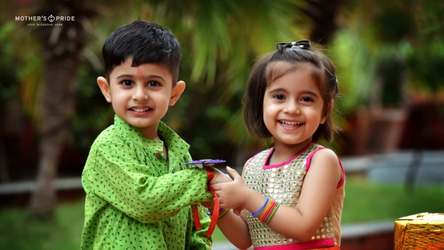LITTLE PRIDEENS SPREAD LOVE ON THE FESTIVAL OF RAKSHA BANDHAN
