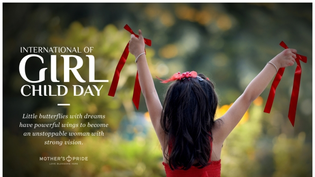GIRL CHILD DAY: LET'S EMPOWER LITTLE BUTTERFLIES TO FLY HIGH