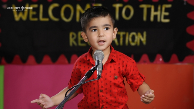 CREATIVE BLEND OF WORDS AND EMOTIONS AT RECITATION COMPETITION
