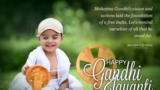 GANDHI JAYANTI: AN ARDENT SALUTE TO OUR DEAREST BAPU