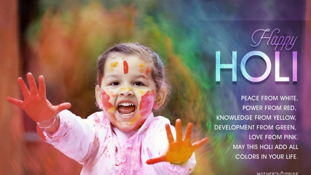 HAPPY HOLI: CELEBRATING THE COLOR OF FRIENDSHIP, HAPPINESS & LOVE