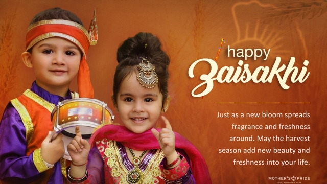 MAY YOUR BAISAKHI BE BLESSED WITH LOVE, JOY & PROSPERITY!