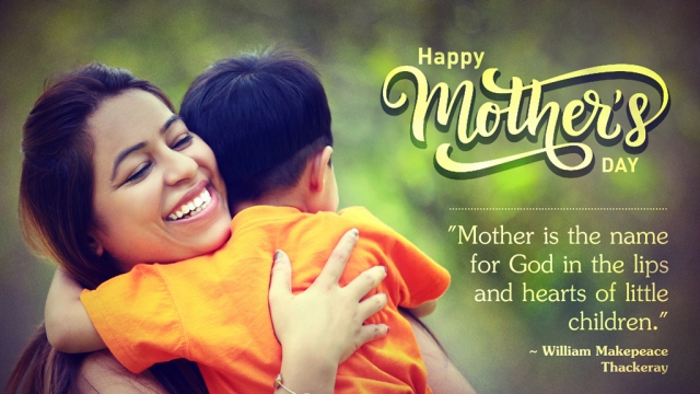 MOTHER'S DAY: MOTHERHOOD BLOSSOMS HERE!
