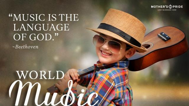 CELEBRATING THE UNIVERSAL LANGUAGE OF MANKIND, MUSIC!
