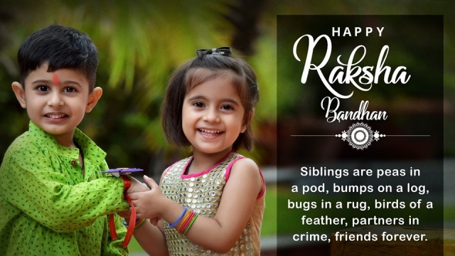 HAPPY RAKHI: CELEBRATING THE PRECIOUS SIBLING BOND!