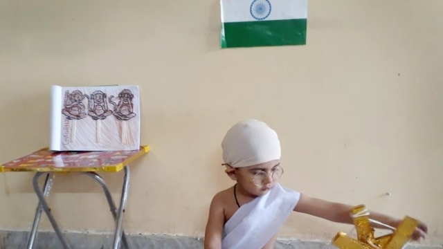 PRIDEENS CELEBRATE GANDHI JAYANTI WITH A MESSAGE OF PEACE