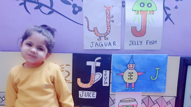 PRIDEENS SPEND A FUN DAY LEARNING THE LETTER 'J'