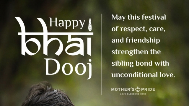 HAPPY BHAI DOOJ TO ALL THE SIBLINGS