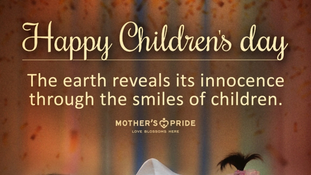 CHILDREN'S DAY: CELEBRATING THE SPIRIT OF CHILDHOOD