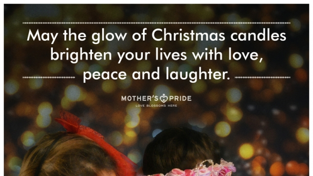 MAY YOUR CHRISTMAS BE WARM WITH LOVE, JOY & LAUGHTER