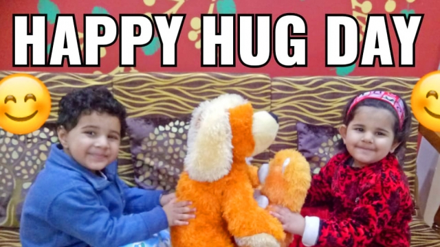 PRIDEENS SPREAD LOVE AS THEY CELEBRATE NATIONAL HUG DAY