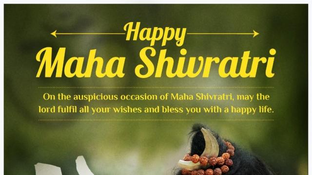 OM NAMAH SHIVAY! SHUBH MAHASHIVRATRI