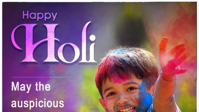 THIS HOLI, LET'S CELEBRATE THE COLORS OF LOVE & LIFE!