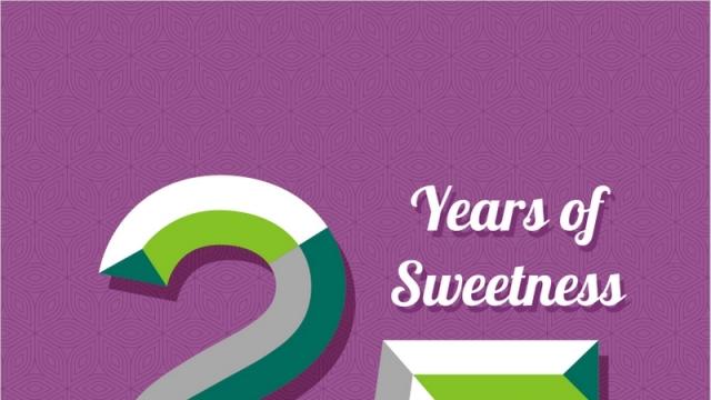 25 YEARS OF SWEETNESS