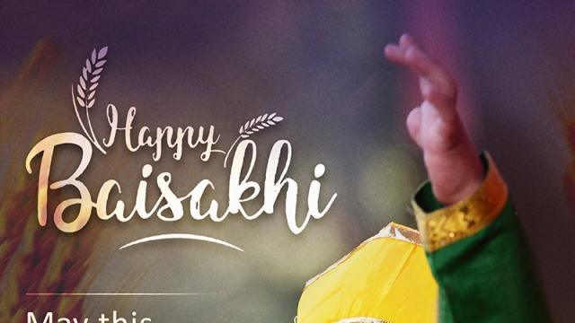 WISHING A DELIGHTFUL & JOYFUL BAISAKHI TO ALL!