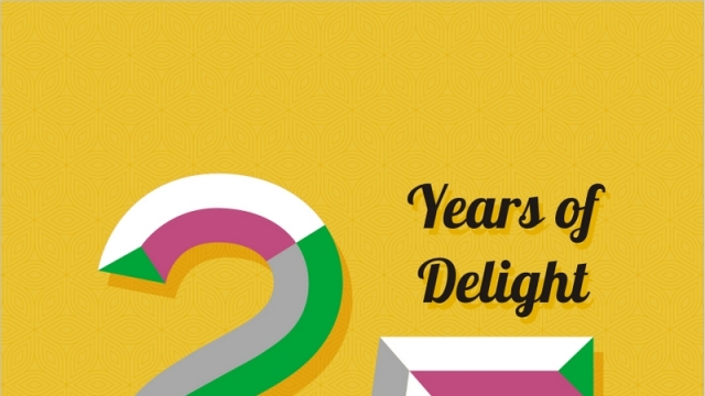 25 YEARS OF DELIGHT