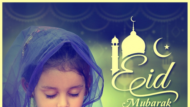 EID MUBARAK: MAY THIS AUSPICIOUS OCCASION BRING YOU PEACE & JOY!
