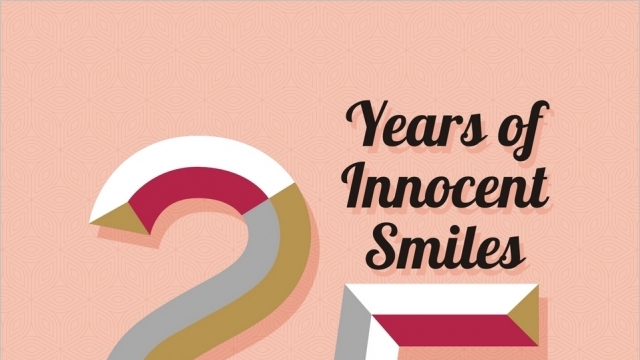 25 YEARS OF INNOCENT SMILES