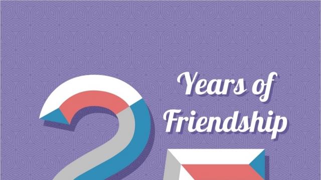 25 YEARS OF FRIENDSHIP