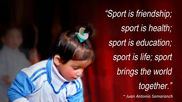 SPORTS BRING THE WORLD TOGETHER!