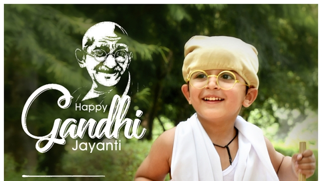 SALUTING THE FATHER OF THE NATION ON GANDHI JAYANTI