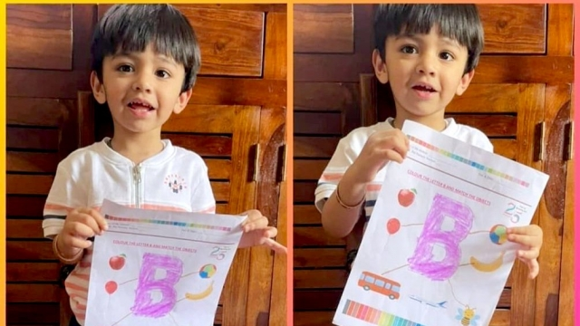 INTRODUCTION TO LETTER 'B': PRIDEENS ACE THE ALPHABETS!